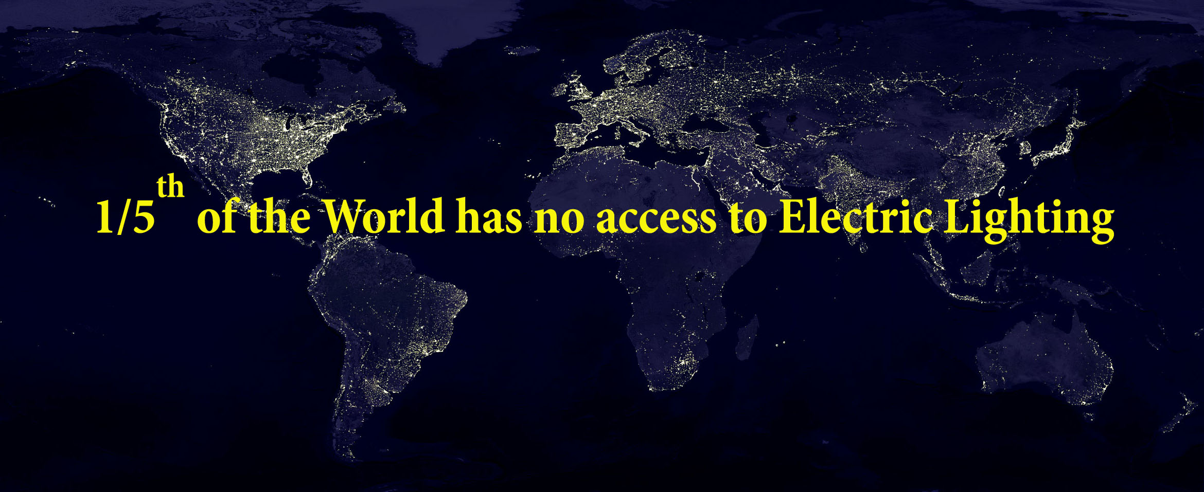Nearly One Fifth of Humanity has no access to electric light  (2014)