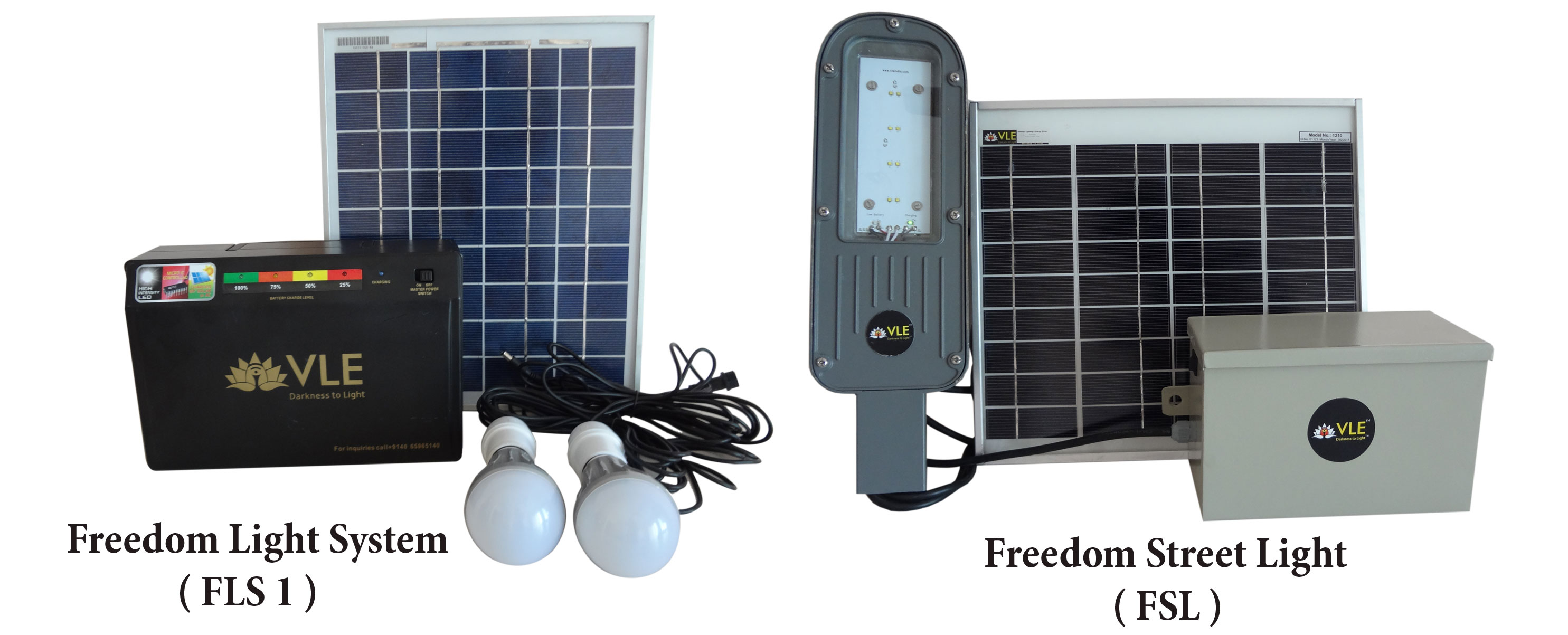 VLEINDIA Freedom Light System and Street Light