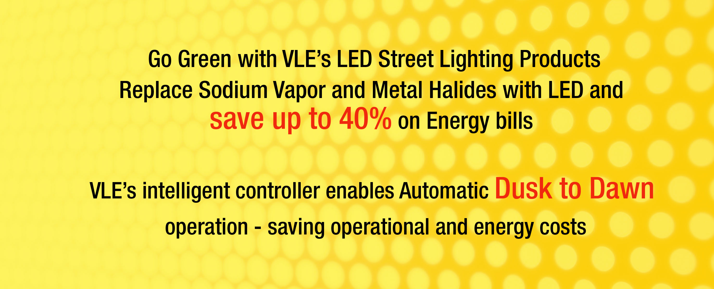 VLEINDIA Street Lighting products